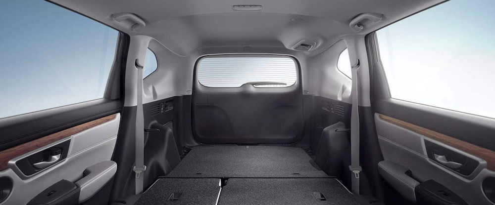 fit  bed   honda cr  interior dimensions cargo space