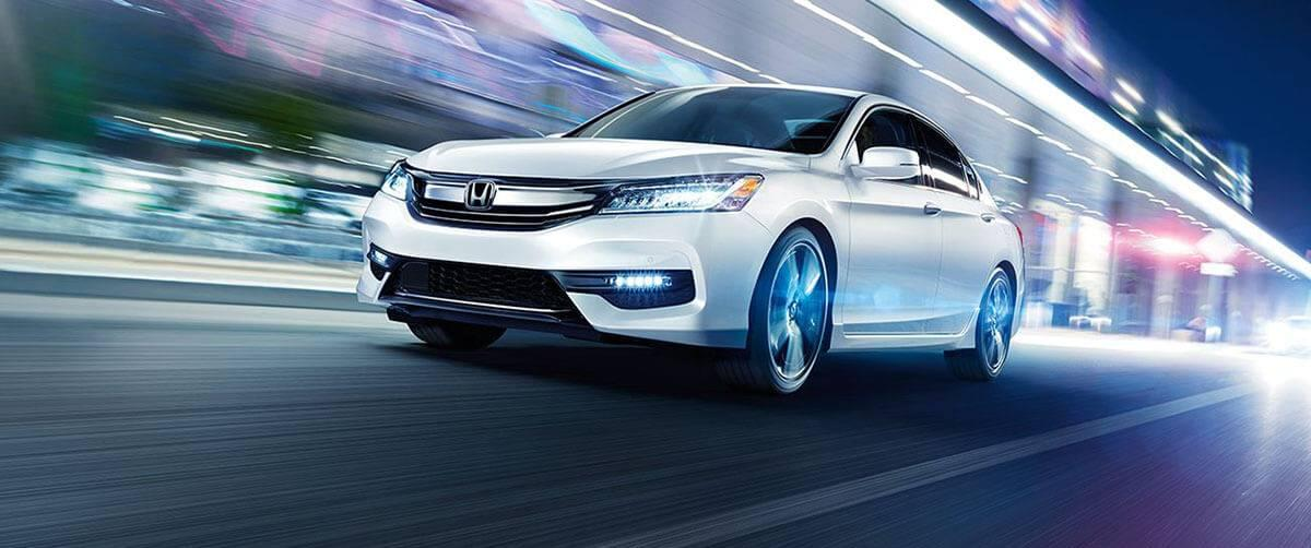 2017 Honda Accord in the city