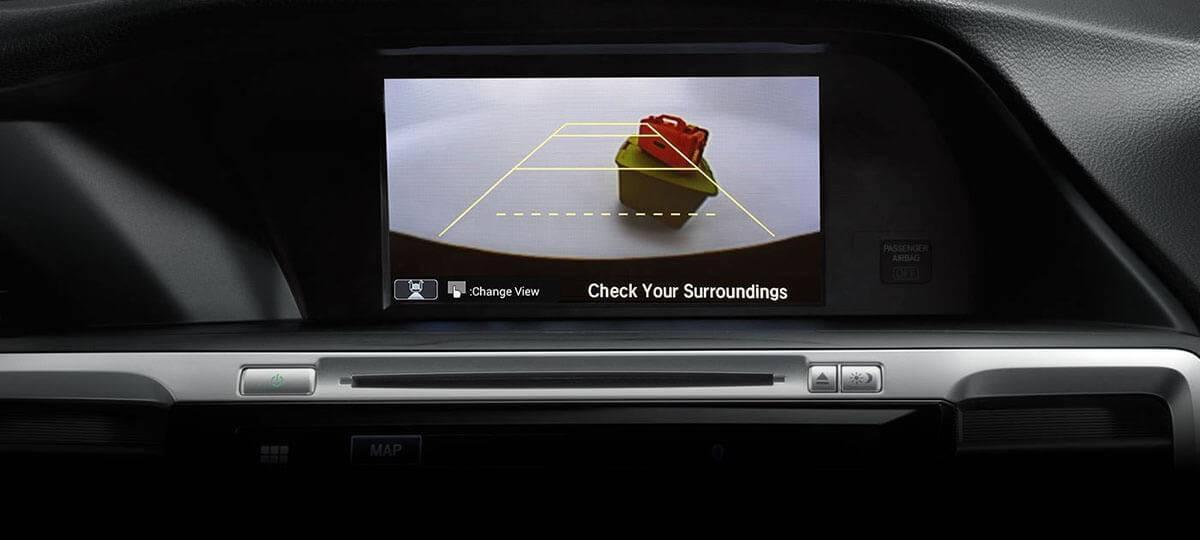 2017 Honda Accord rearview camera