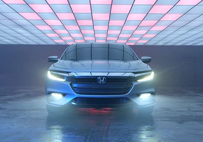 Honda Insight Hybrid headlights