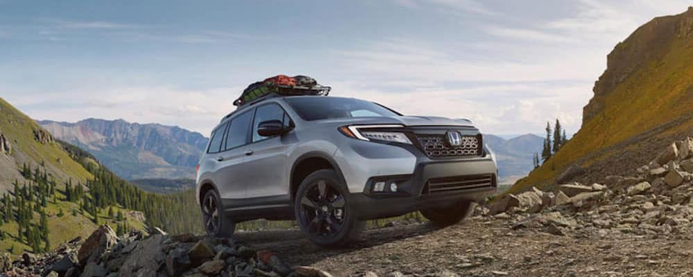 2019 Honda Passport off road
