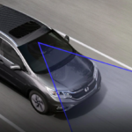 Honda CR-V using Lane Departure Warning