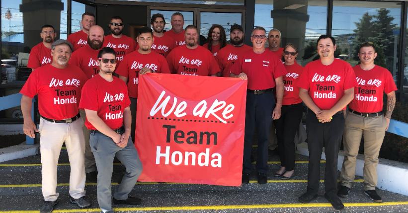 Klamath Falls Team Honda Week of Service