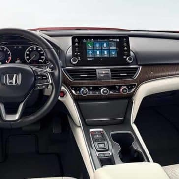 2020 Honda Accord Dash