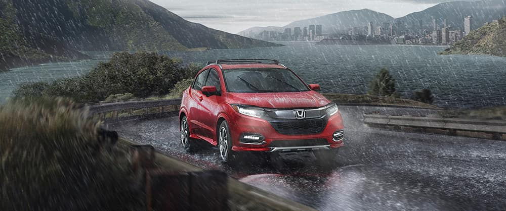 2020 Honda HR-V In the Rain