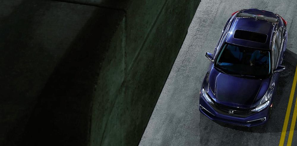 2020 Honda Civic Aerial View