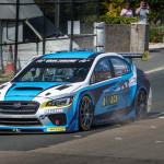 Subaru WRX STI Time Attack car
