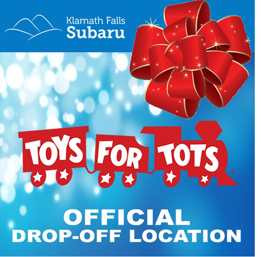 Toys For Tots Drop Off : Klamath falls subaru toys for tots drop off location