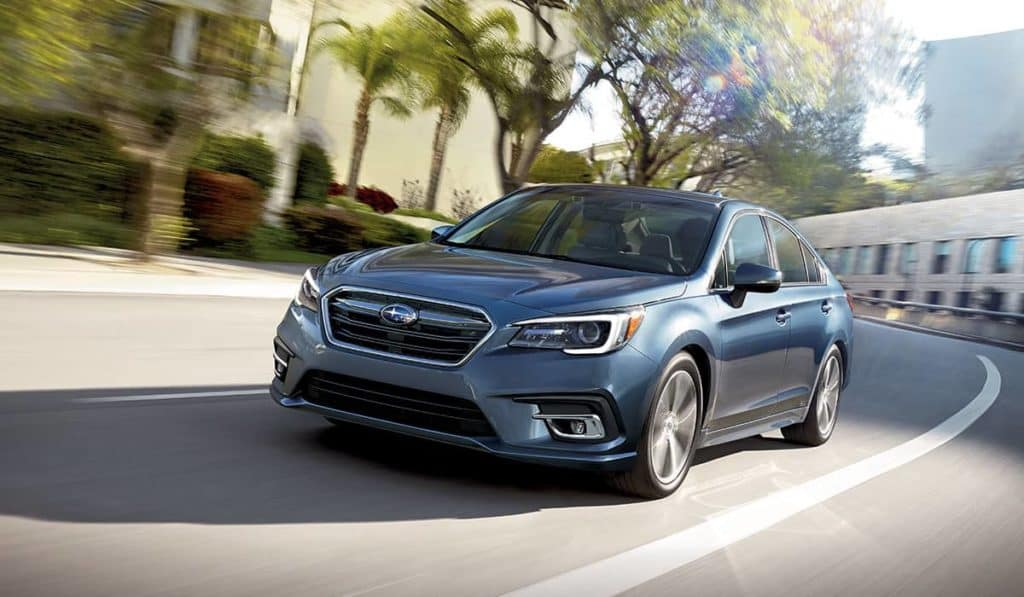 2018 Subaru Legacy on the parkway