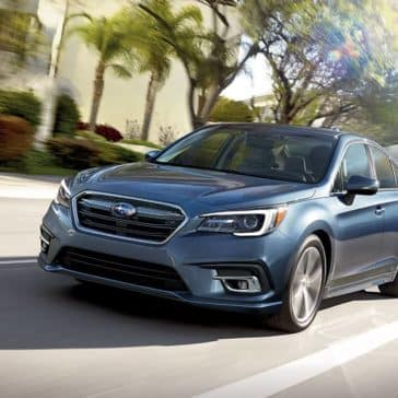 2018 Subaru Legacy on the parkway