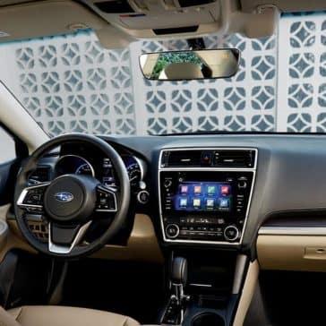 2018 Subaru Legacy dashboard