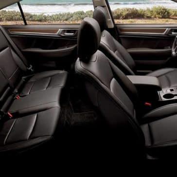 2018 Subaru Legacy seating
