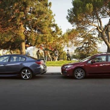 2019 Subaru Impreza parked on street