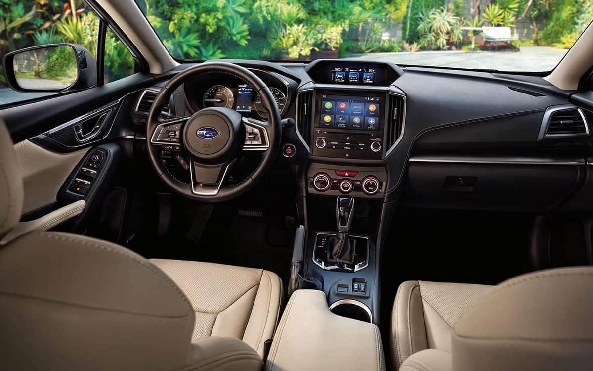 2019 Subaru Impreza dashboard