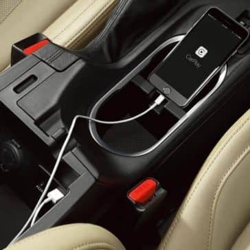 2019 Subaru Impreza charging port