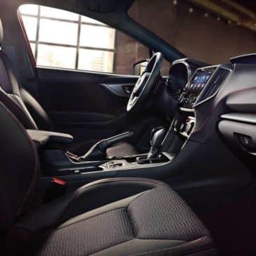 2019 Subaru Impreza front seat