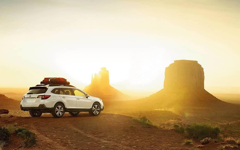 2019 Subaru Outback visiting mesas