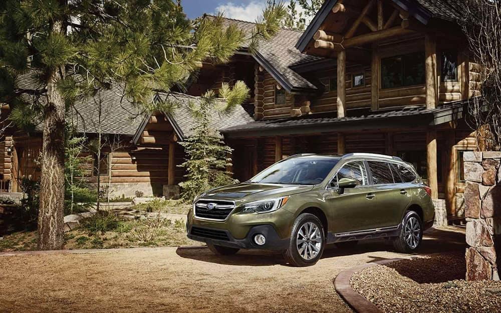 2019 Subaru Outback weekend getaway