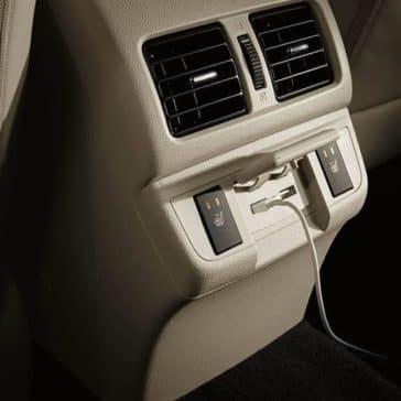 2019 Subaru Outback charging port