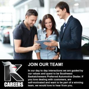 Join the Knight Auto Team Today!