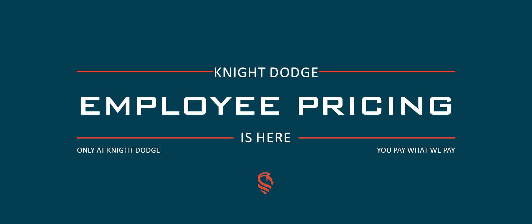 Employee Pricing at Knight Dodge