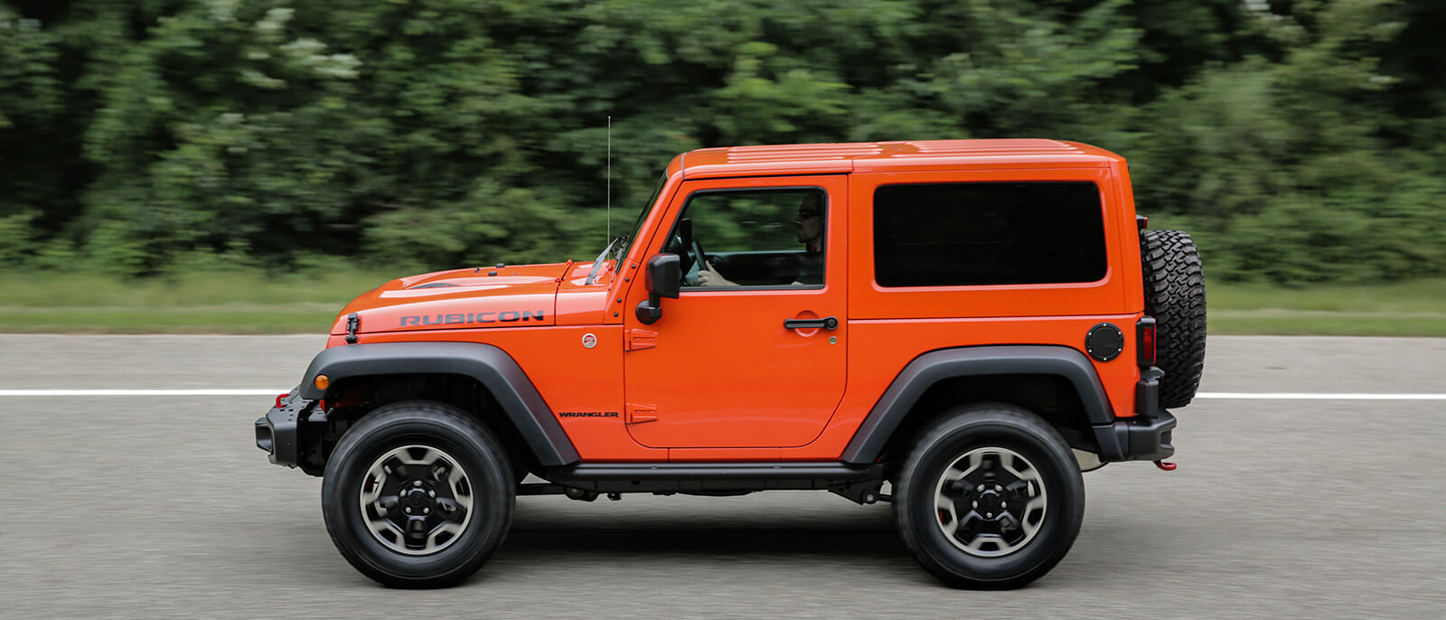 2017 Jeep Wrangler Driving