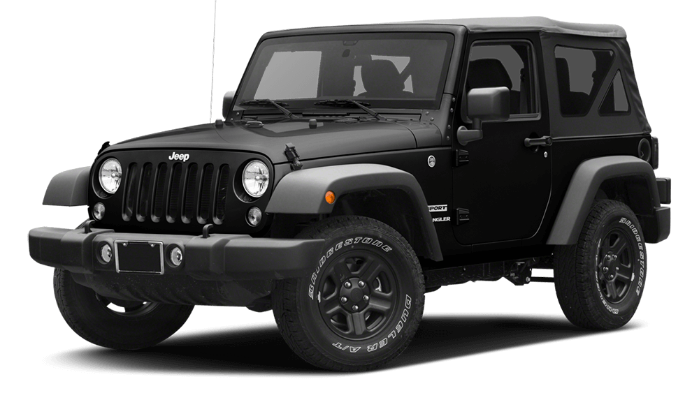 2017 Jeep Wrangler Black
