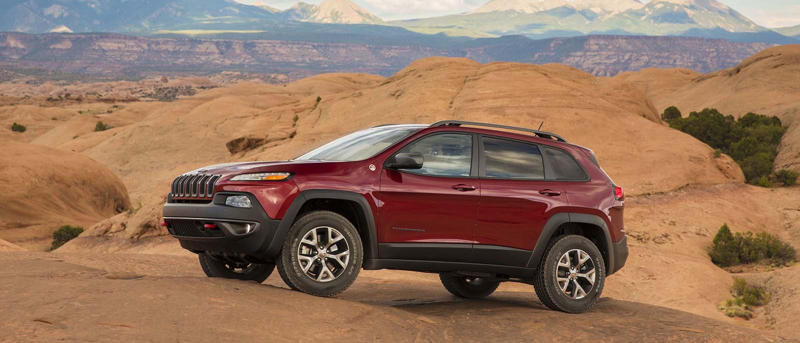 2017 Jeep Cherokee Red