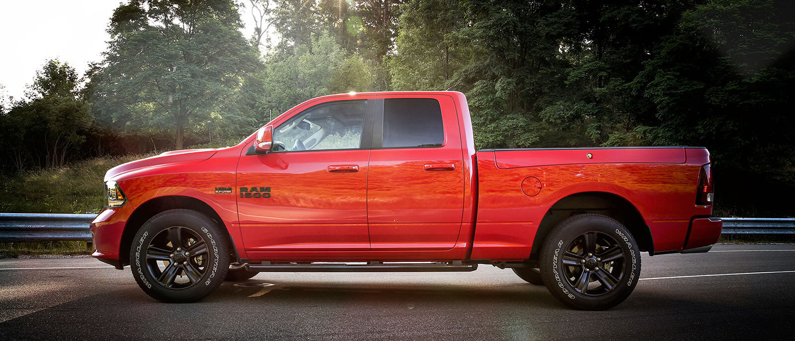 2017 Ram 1500 CA Red