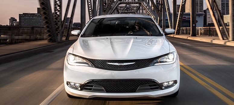 2016 Chrysler 200 on display