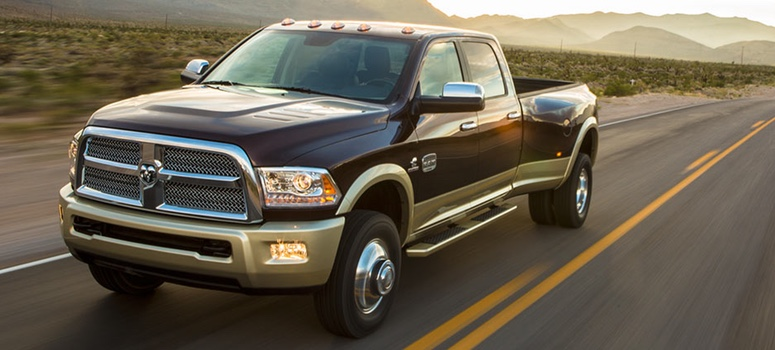 2016 Ram 3500 on the road