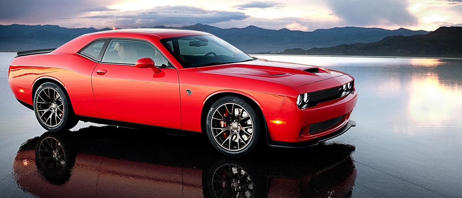 2016 Dodge Challenger red