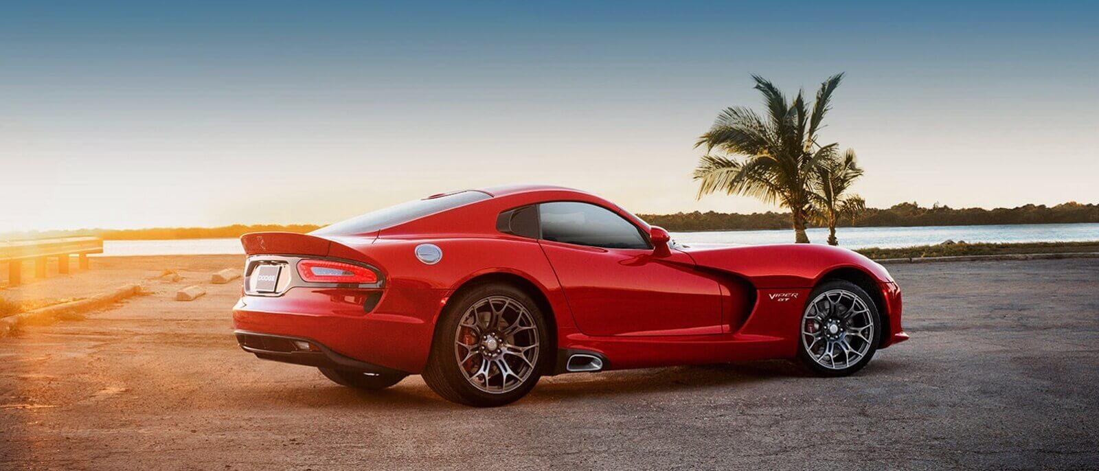 2016 Dodge Viper red