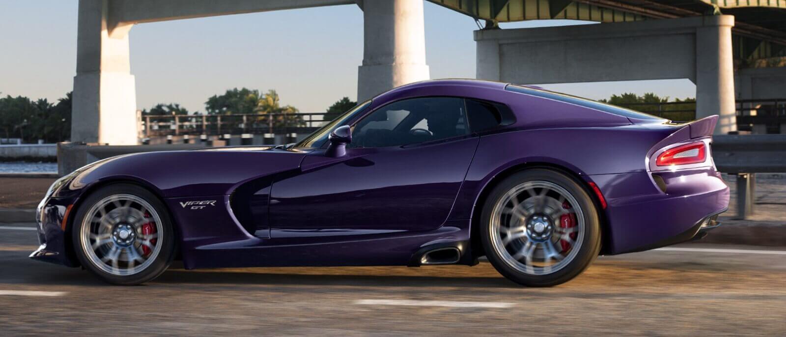 2016 Dodge Viper purple