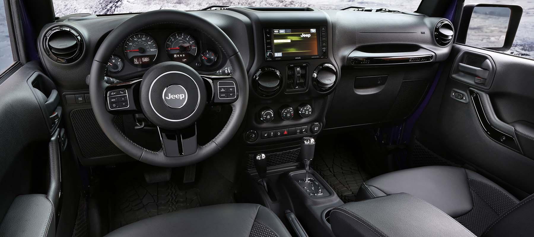 2016 Jeep® Wrangler Interior