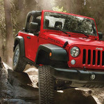 2017 Jeep Wrangler Red