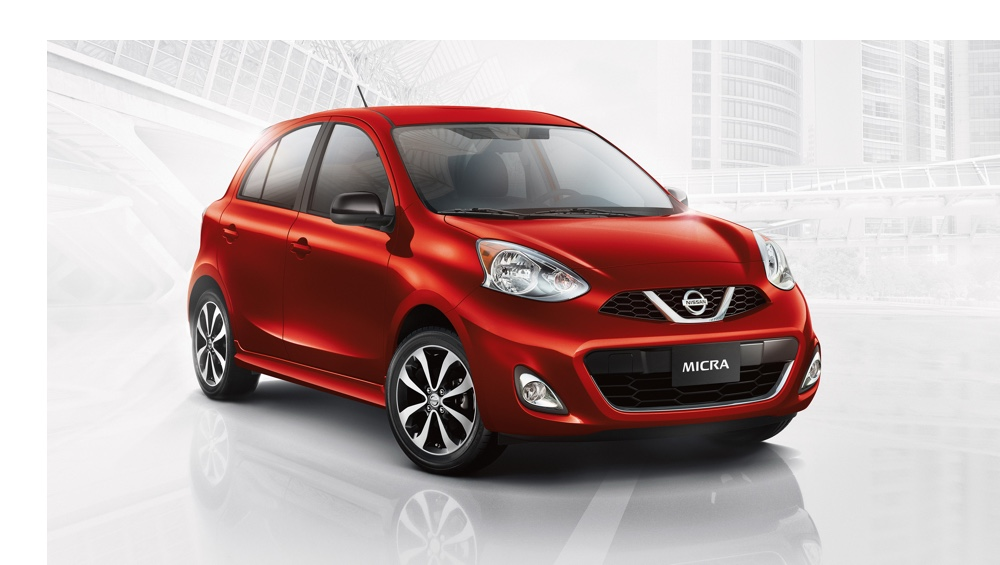 2015 Nissan Micra red exterior