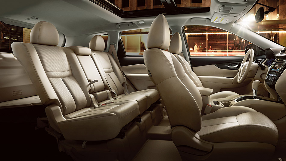 The 2014 Nissan Rogue Interior Is Comfortable And Spacious