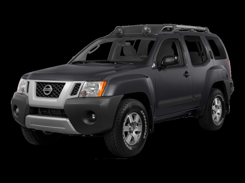 Black 2015 Nissan Xterra