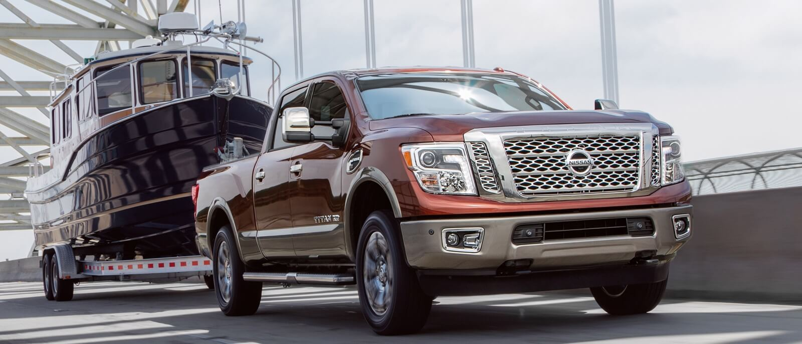 2016 Nissan Titan XD in action