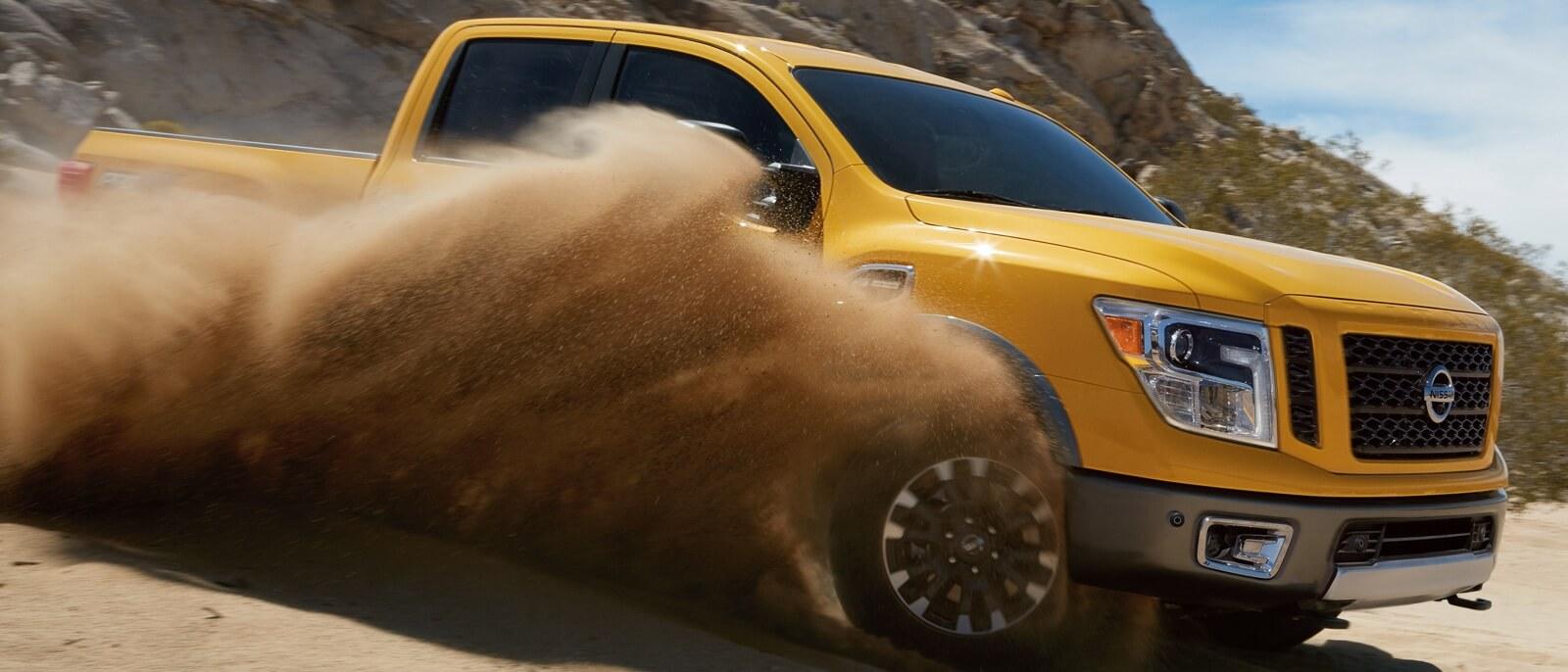 2016 Nissan Titan XD yellow exterior
