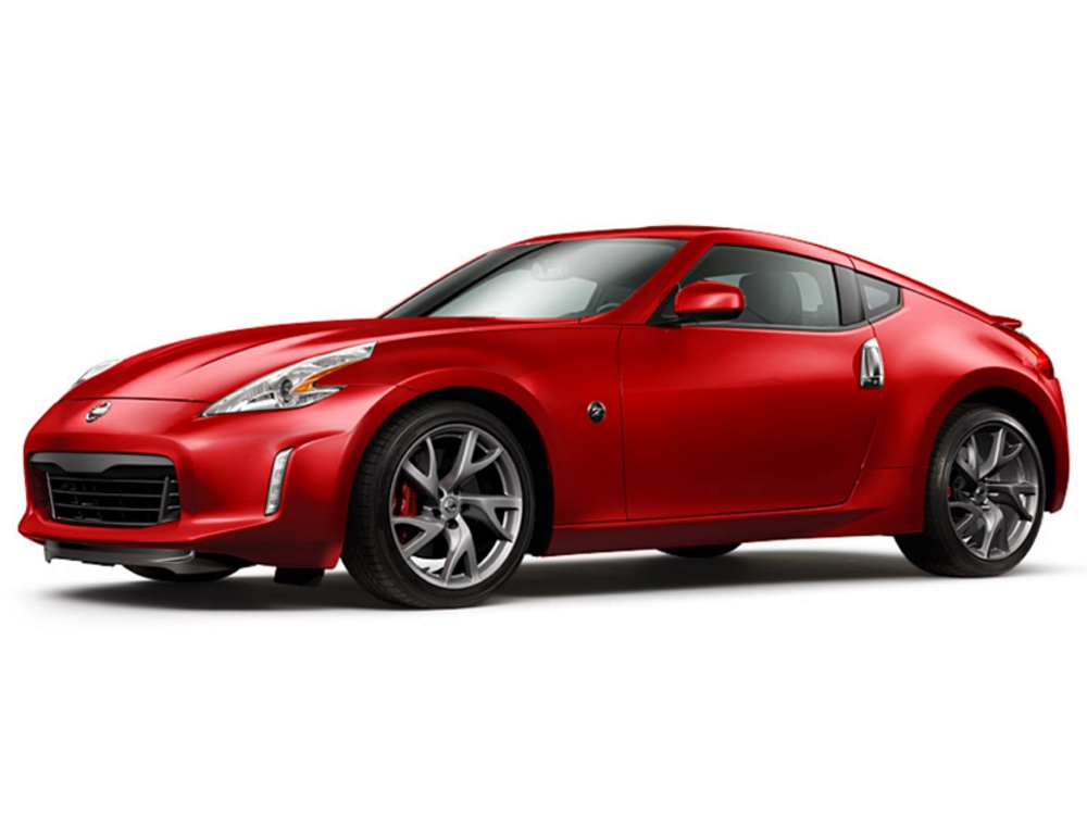 Red 2016 Nissan 370Z Coupe