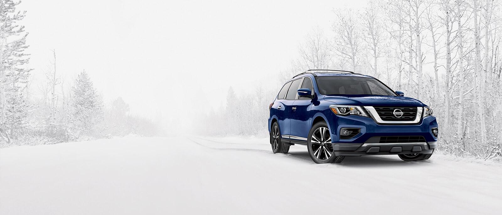2017 Nisan Pathfinder Snow