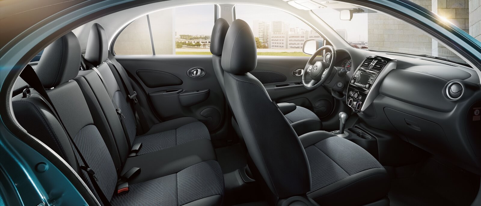 2016 Nissan Micra interior seating