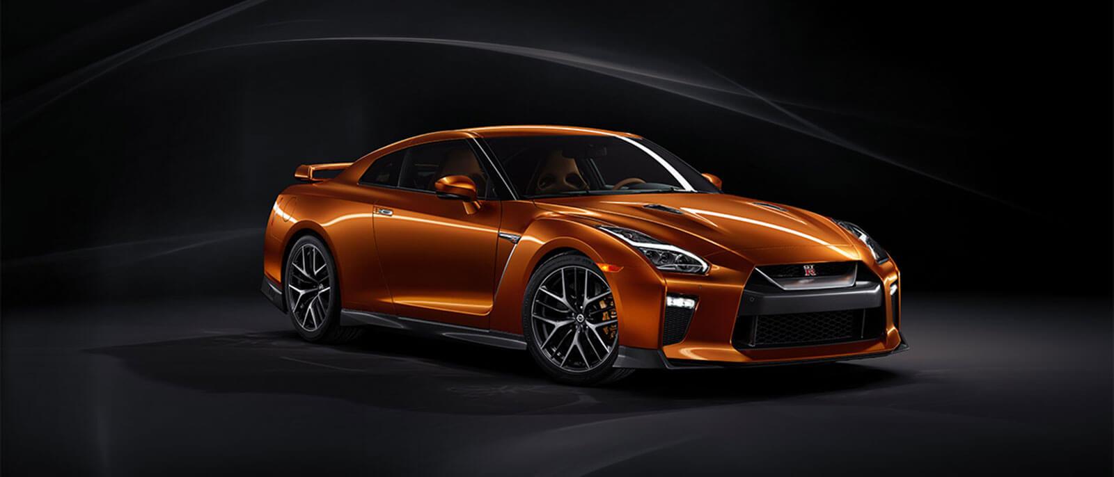 2017 Nissan GT-R orange