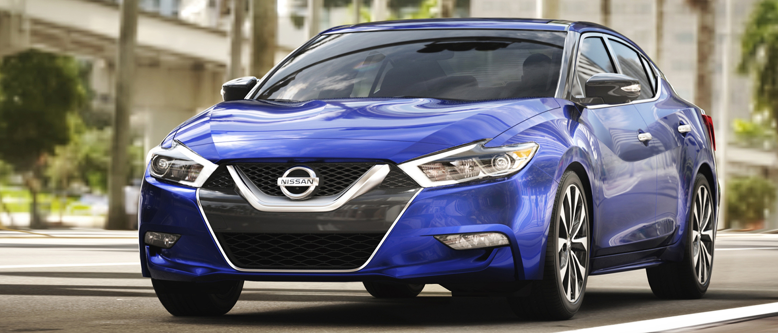 2017 Nissan Maxima blue