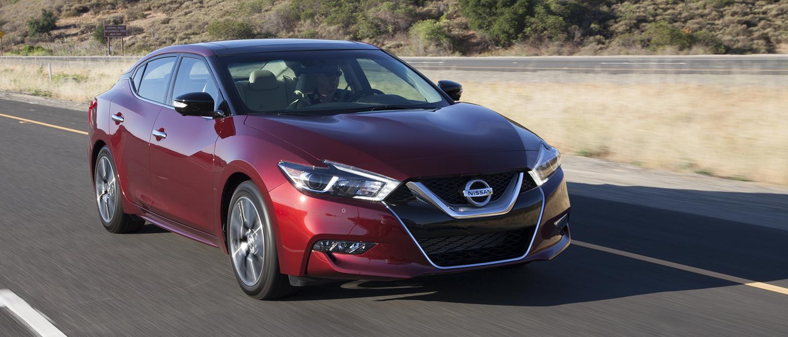 2017 Nissan Maxima driving