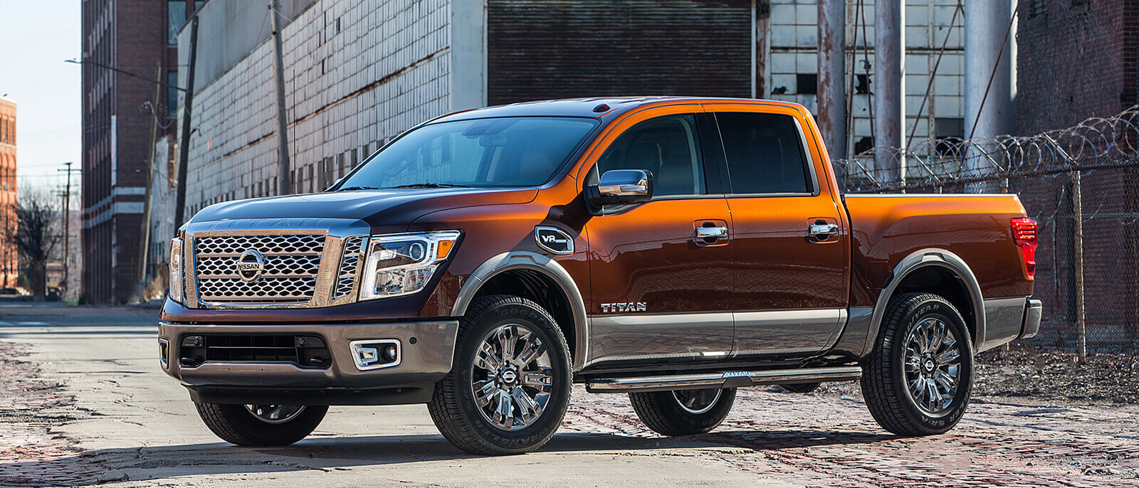 2017 Nissan Titan Orange