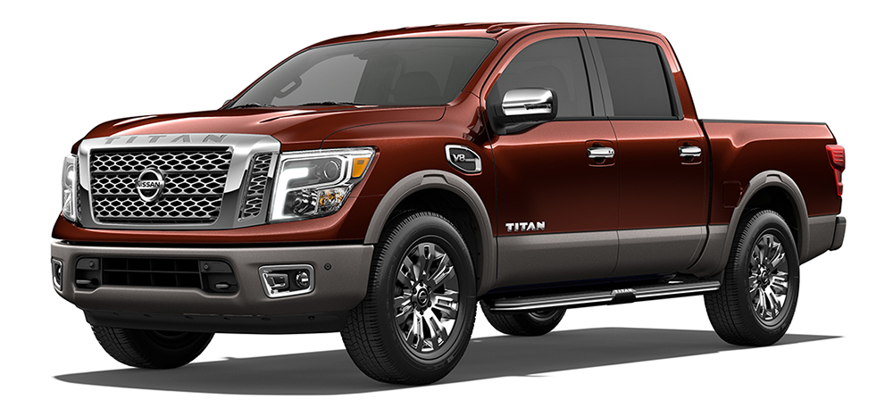 2017 Nissan Titan Copper
