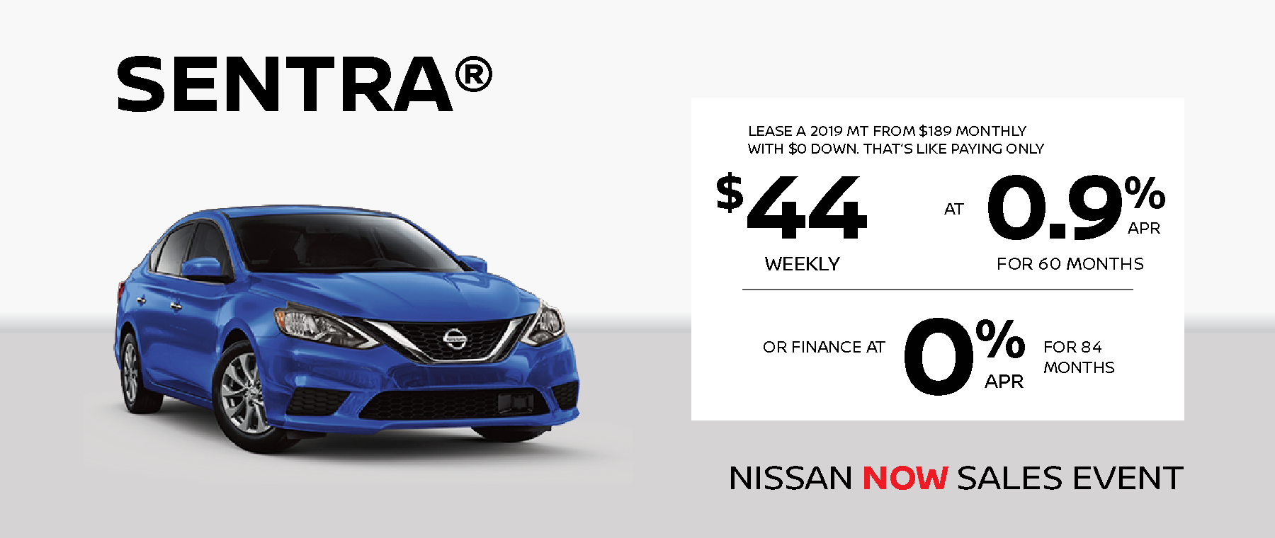 Sentra Lease Deal
